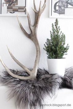 ber ideen zu hirschgeweih auf pinterest geweihe. Black Bedroom Furniture Sets. Home Design Ideas