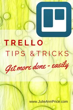 Trello is an amazing tool that can be used to help you stay on track and get things done. It is my number 1 Go-To tool for all of my planning. While it is relatively user-friendly, there are some helpful Trello tips and tricks that you may [...]