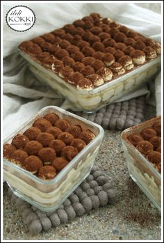 Tiramisu Recipe, Ice Cream Candy, Hungarian Recipes, Cake Bars, Chocolate Treats, Coffee Recipes, Cake Cookies, No Bake Cake, Easy Desserts