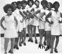 The Elegant and Noble Ladies of the Epsilon Nu Chapter of Alpha Kappa Alpha Sorority Incorporated.