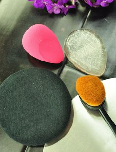 Powder Puff and Makeup Sponges