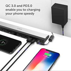 Amazon.com: VAVA USB C Docking Station with 36W Adapter, 100W PD, Ethernet Port, SD Card Slot, 2 x USB 3.1, 2 x USB 2.0, 1 x QC 3.0 Ports, 1xPD 3.0 Port, 1x DC in Port for MacBook Pro and Type C Windows Laptop: Gateway Usb Dock, Docking Station, Laptop Computers, Sd Card, Macbook Pro, Computer Accessories, Gadget, Slot, Delivery