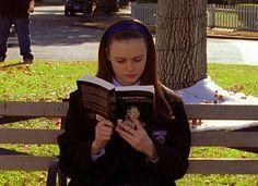 Listona com os 339 livros que Rory leu em Gilmore Girls
