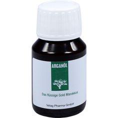 ARGANÖL:   Packungsinhalt: 50 ml Öl PZN: 00701530 Hersteller: Velag Pharma GmbH Preis: 5,00 EUR inkl. 19 % MwSt. zzgl. Versandkosten ---