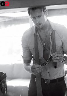 Alexander Skarsgard .... Hello Sir! I love you in pretty much everything you've been in, but especially True Blood!