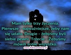 bywa to możliwe ? Mood Quotes, Love Words, Friendship Quotes, Motto, Nostalgia, Facts, Relationship, Good Things, Thoughts