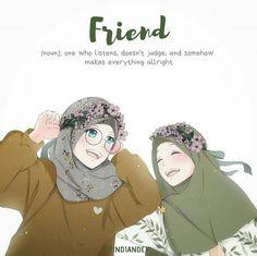 Cartoon Girl Images, Girl Cartoon, Cartoon Art, Quran Wallpaper, Hijab Drawing, Islamic Cartoon, Anime Friendship, Hijab Cartoon, Islamic Girl