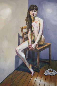 """Saatchi Art Artist James Needham; Painting, """"Nettie"""" #art"""