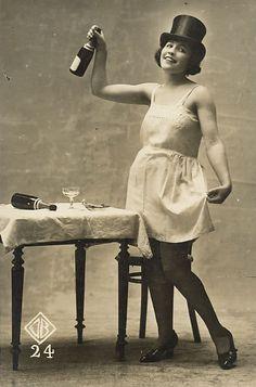 Flapper Celebrating