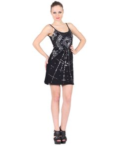 Stripe Ornamental Dress