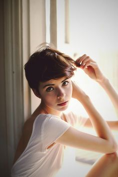 Best Short Pixie Haircut 2012 2013 2013 Short Haircut For Women Short Pixie Haircuts, Short Haircut, Pixie Hairstyles, Pretty Hairstyles, Wedding Hairstyles, Corte Pixie, Corte Y Color, My Hairstyle, New Hair