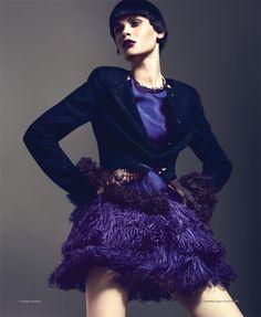 Reka Nagy by Andrew Holden for Harper's Bazaar Spain