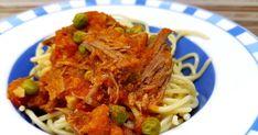 Μακαρόνια με μοσχαράκι, μοσχαράκι, σάλτσα για μακαρόνια, σάλτσα, Spaghetti, Ethnic Recipes, Food, Meals, Yemek, Noodle, Eten