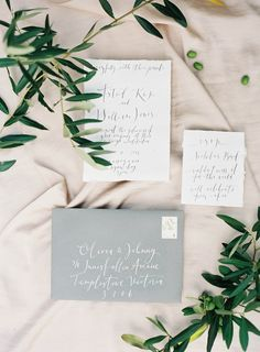 Delicate Paper goods by Cotton Blossom | Magnolia Rouge + Jen Huang + Fleuriste on Grey Likes New Zealand Auckland Wedding Garden Inspiration