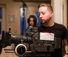 At the Story Arts Centre, film students get to practice their craft, and build a portfolio to showcase the skills they've learned. Film major Jared Valkki is one such case, having worked as Director of Photography on the student-created comedy Stairs.