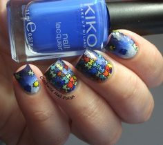 The Clockwise Nail Polish: Light It Up Blue Movement: Autism Awareness