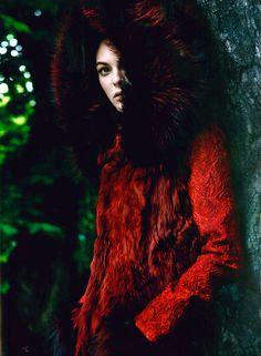 Vittoria Ceretti in Dolce&Gabbana Fall Winter 2014-15, A&E Middle East September 2014  -