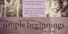 My Tangled Skeins Book Reviews: Cover Reveal: simple beginnings by Janelle Stalder