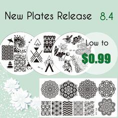 Born Pretty Store Blog: BORNPRETTY® Stamping Plates New Arrivals! Share to...