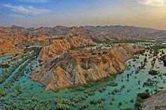 Earth Dam of Goran Village, Qeshm Island, Persian Gulf, IRAN (Persian: جزیره قشم، سد خاکی روستای گوران) Photo by: Ebrahim Nik Kho