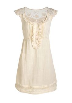 LOVE this Lace Shirtdress from Delias! $44.50 - so pretty!
