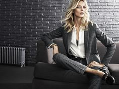Women's business style | Massimo Dutti | Fall Winter '14 New York Limited Collection