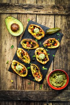 Tex-Mex Twice Baked Potato Skins (Vegan+GF) – Sincerely Tori