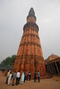 Qutub Minar, Delhi - a must-see!