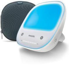 Philips GoLITE BLU Energy Light, Rechargeable w/Travel Pouch -