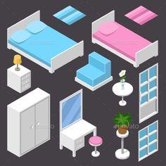 Isometric Furniture