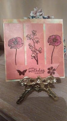Good Morning Ladies, This week's Challenge was to make cards that feature so it could be 3 colours, 3 layers of 3 of anything feature. Good Morning Ladies, Challenge Cards, Challenges, Colours, Friends, How To Make, Handmade, Amigos, Hand Made