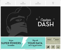 Captain+Dash - CoolHomepages Web Design Gallery