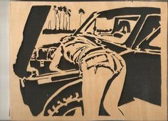 Out door mechanic - Breighner Woodworking/Jerry Britner - User Gallery - Scroll Saw Village