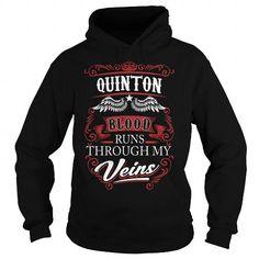 I Love QUINTON, QUINTONYear, QUINTONBirthday, QUINTONHoodie, QUINTONName, QUINTONHoodies Shirts & Tees