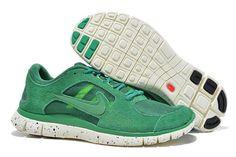 Nike Free Run+ 3 EXT Grøn Hvid Herre Sko