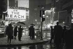 Times Square at Night, New York c.1955 © Bedrich Grunzweig Photo Archive