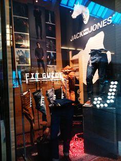 Window dressing Jack&Jones.C.C, Xanadu By: Chefaoui & Donlebum