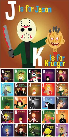 LOVE! A to Z of horror