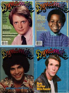 Dynamite, 1974-1992. Boy I loved getting this magazine through the Scholastic Book Club!