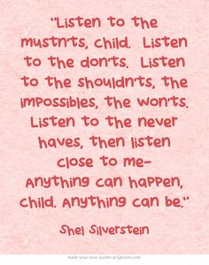 Listen to Shel Silverstein