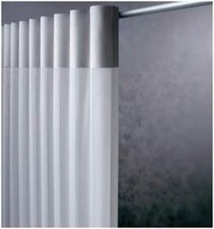 Hunter Douglas Alustra Silver Reflection Luminette available at Sheila's Window Toppers Hunter Douglas Showroom