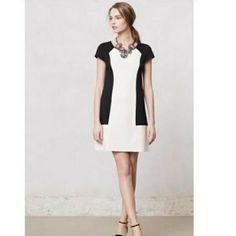 Anthropologie Maere Color Block Dress