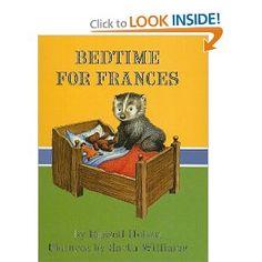 Bedtime for Frances: Russell Hoban, Garth Williams: 9780812422047: Amazon.com: Books