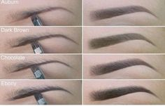 Choosing the correct color to fill in your eyebrows can make or break your look. Check out these tips on how to choose the perfect color for yourself!