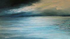 Pejzaż morski, marynistyka Sylwia Michalska, obrazy olejne na płótnie malowane ręcznie - www.artpracownia.wordpress.com