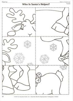 Winter-Arbeitskarte - New Ideas Preschool Christmas Crafts, Christmas Activities, Holiday Crafts, Christmas Colors, Christmas Themes, Kids Christmas, Handmade Christmas, Illumination Noel, Art Therapy Directives