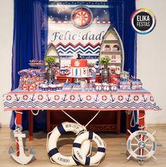 Decoração para Festa no Tema Navy / Marinheiro - Linda opção para Festa Infantil, principalmente de meninos