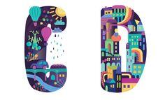 Wonderland Type by Petra Blahova, via Behance
