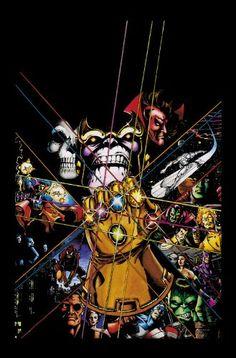 Infinity Gauntlet Omnibus by Marvel Comics,Infinity Gauntlet Omnibus