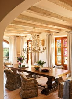Home in Mallorca featured on Dustjacket Attic. This place looks like a little piece of heaven.